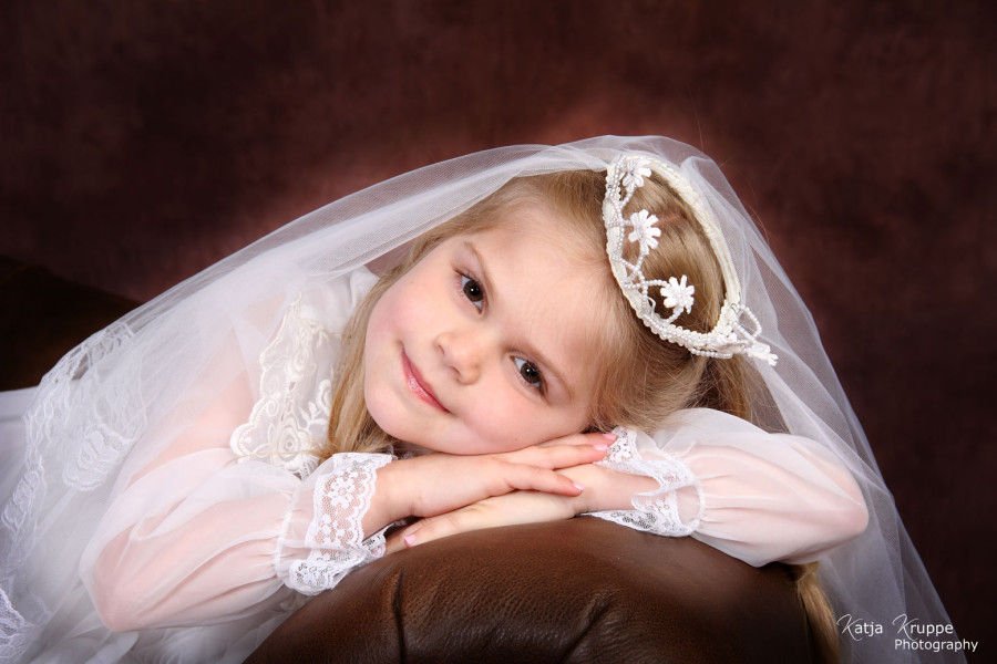 Communion & Baptism portrait session